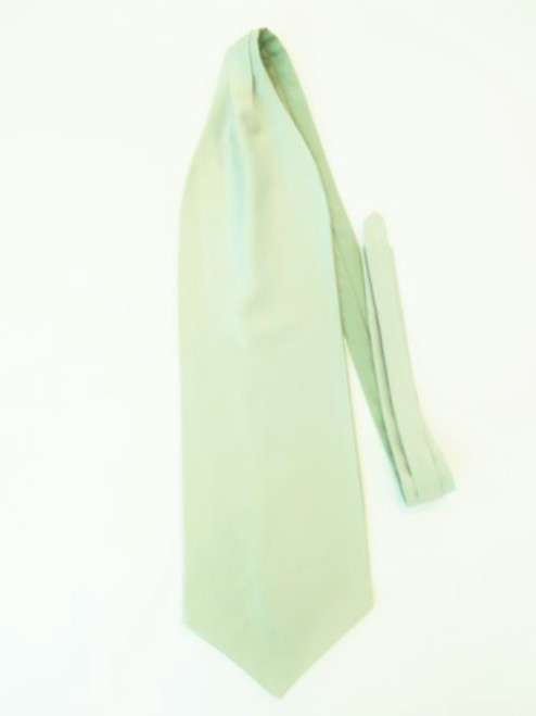 Sage green wedding cravat