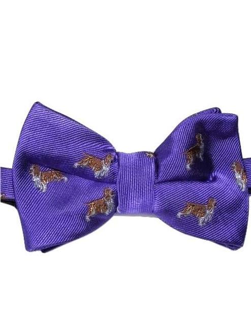 Men's dog themed bow tie