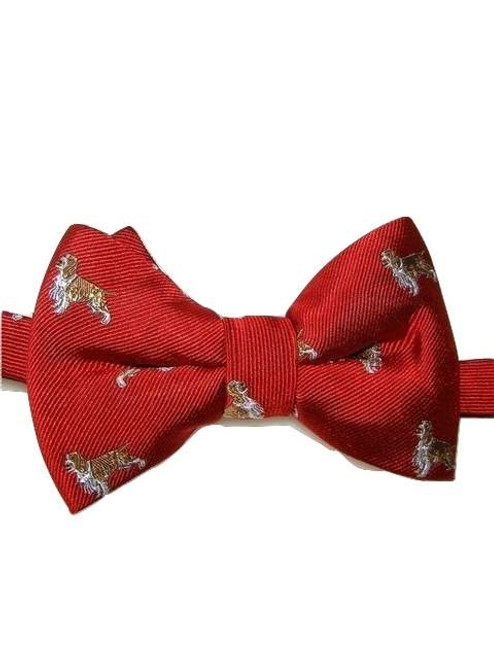 Dog themed bow tie