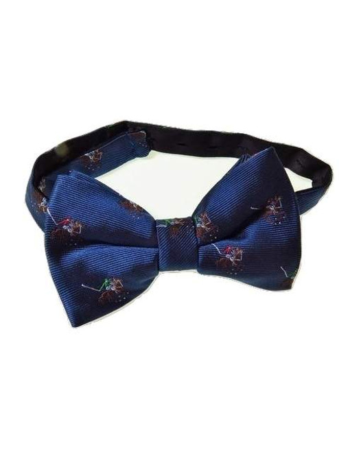 Polo themed bow tie