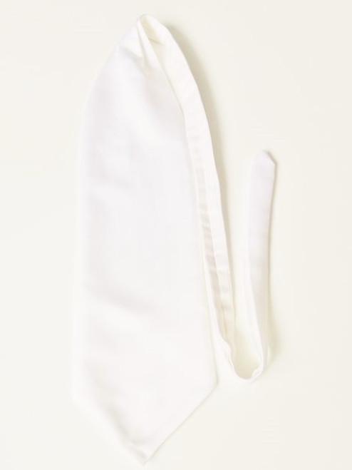 Ivory wedding cravat
