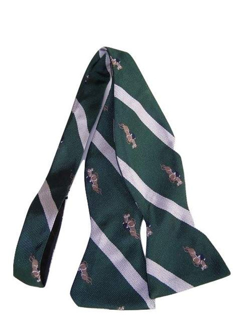 Show jumping themed bow tie
