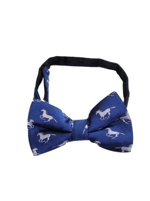 Men's horse themed bow tie