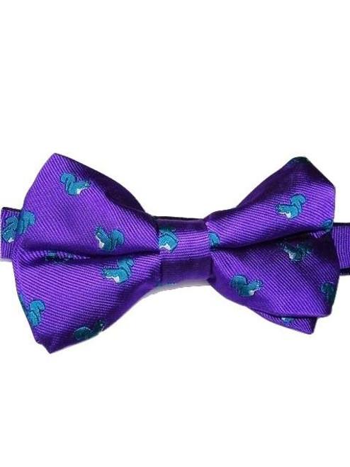Wildlife theme bow tie