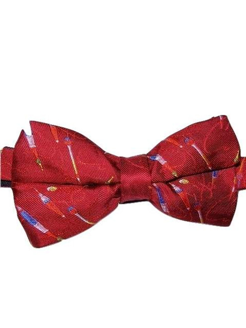 Fishing theme bow tie
