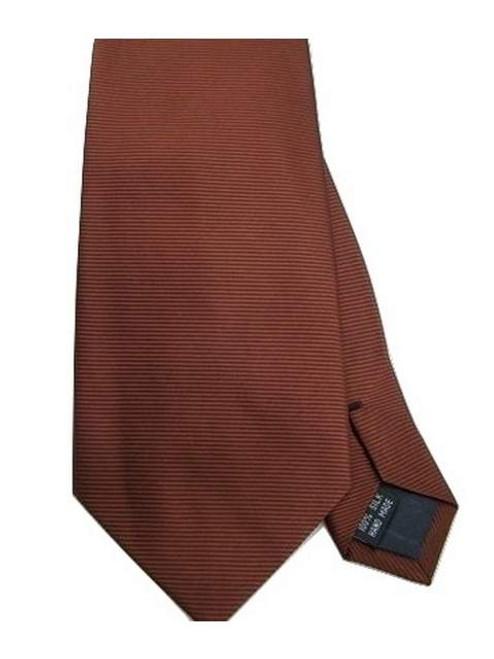 Bronze silk tie