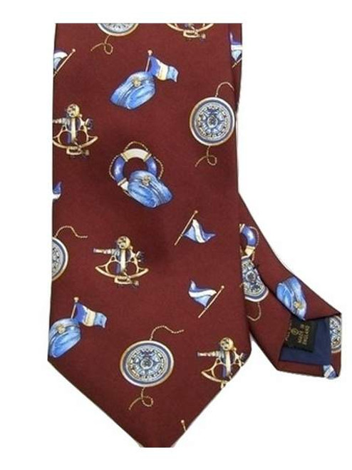 Nautical themed tie