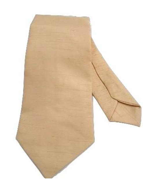 Mens gold wedding tie