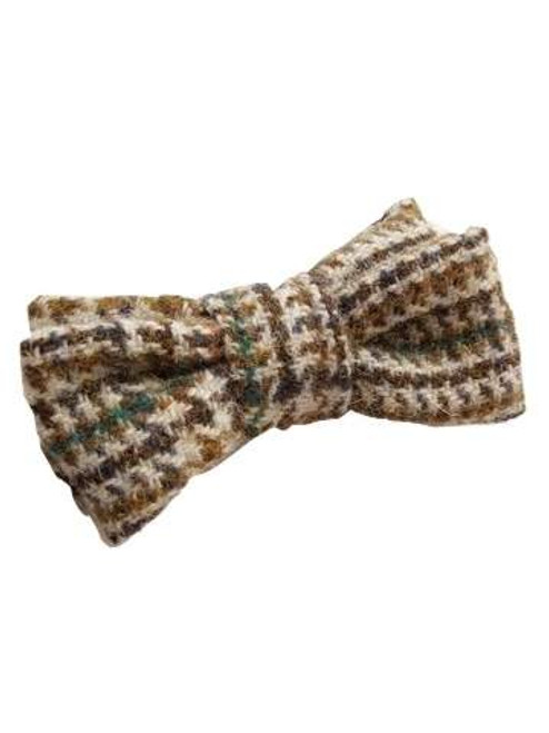 Tweed wool bow tie