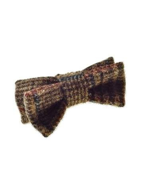 Wool tweed bow tie
