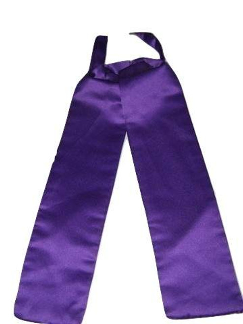 Cadbury purple wedding cravat