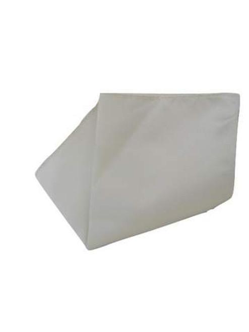 Cream pocket square