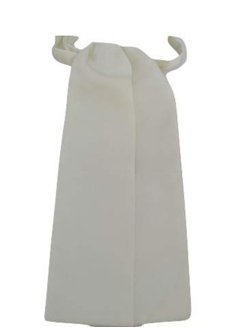 Cream wedding cravat