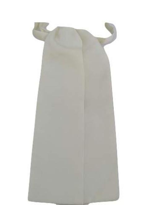 Cream wedding cravat