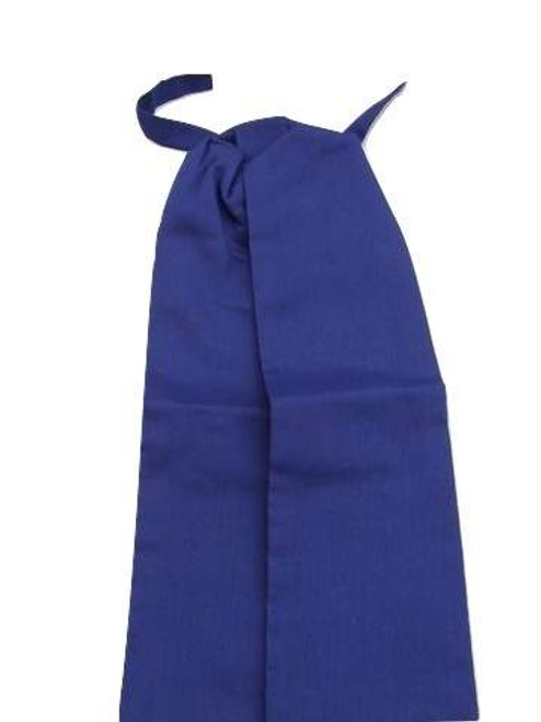 Dark blue wedding cravat