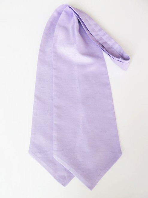 Lilac wedding cravat tie