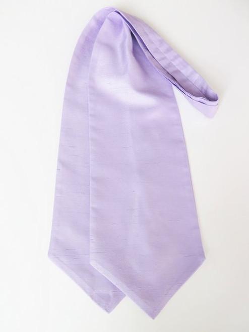 Lilac wedding cravat tie