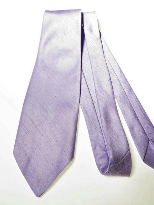 Lilac wedding tie