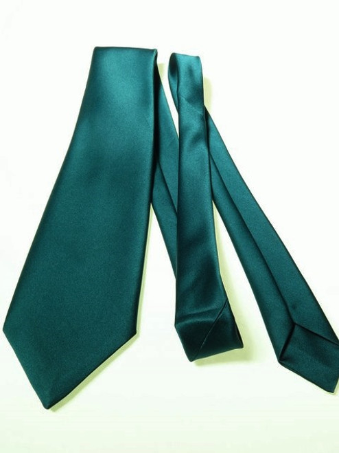 Green wedding tie