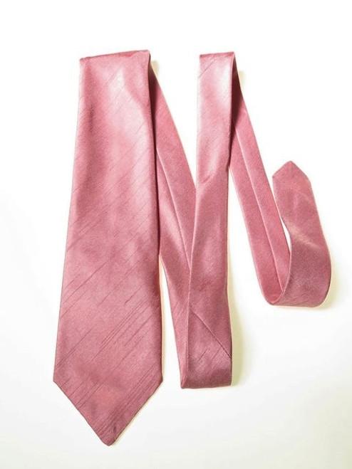 Mens dusky pink wedding tie