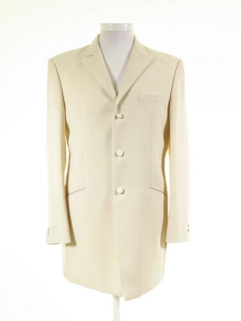 Mens ivory wedding jacket