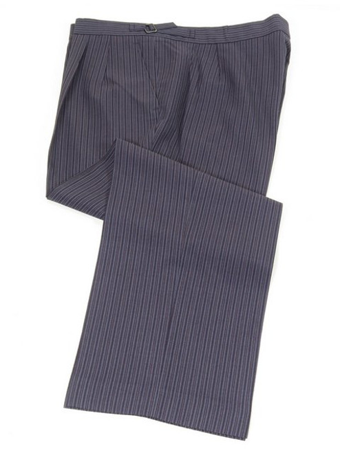 Stripe morning suit trousers