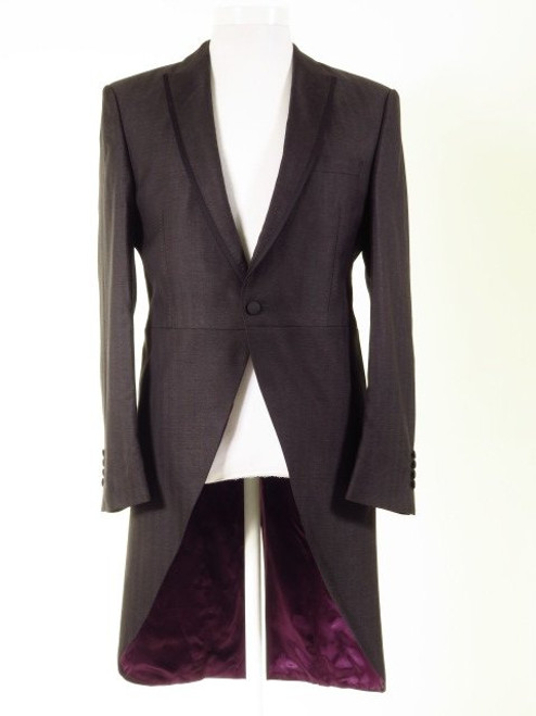 Charcoal grey tailcoat
