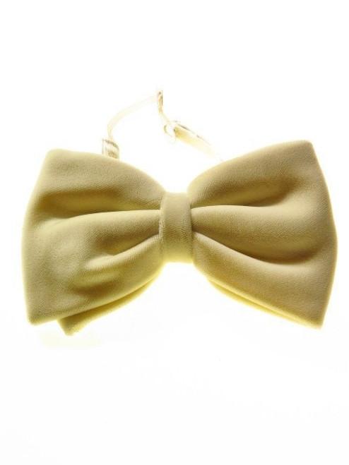 Large velvet bow tie