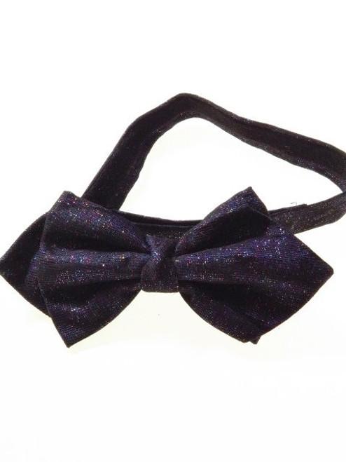 Glittery bow tie