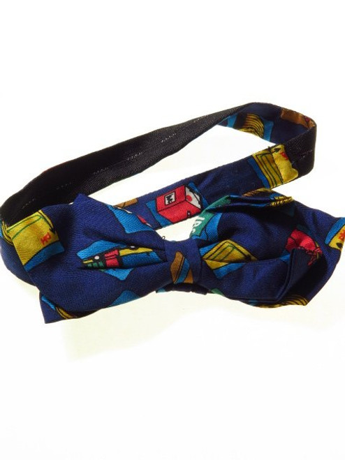 Novelty silk bow tie