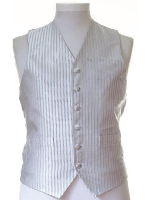 Silver wedding waistcoat