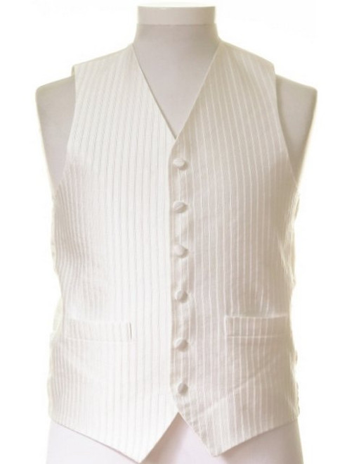 Ivory waistcoat formal dress