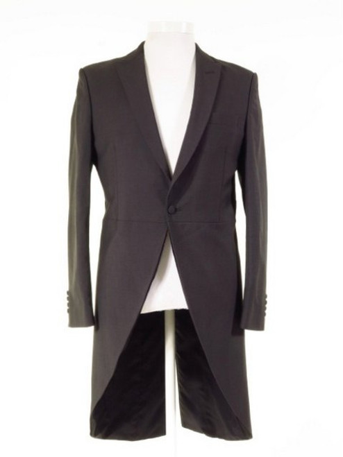 Slim fit grey morning suit