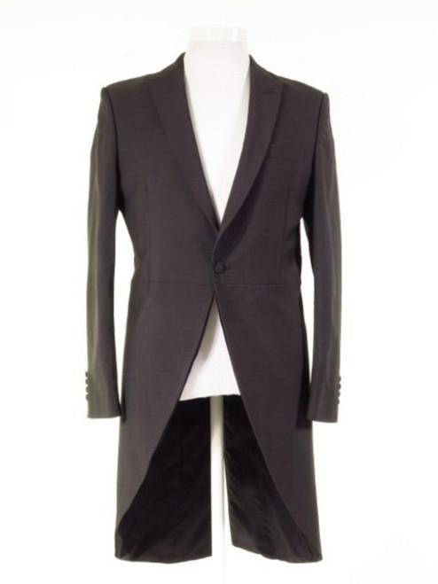 Slim fit grey morning suit