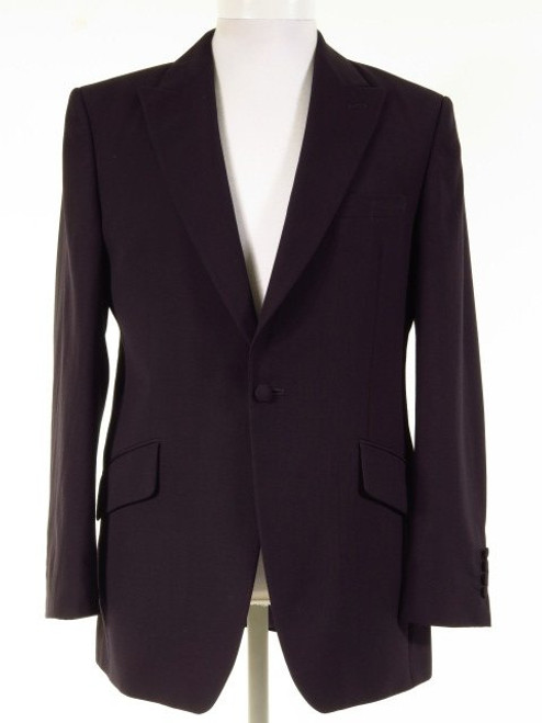 Navy wedding suit jacket