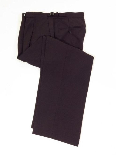 Navy blue morning suit wedding trousers