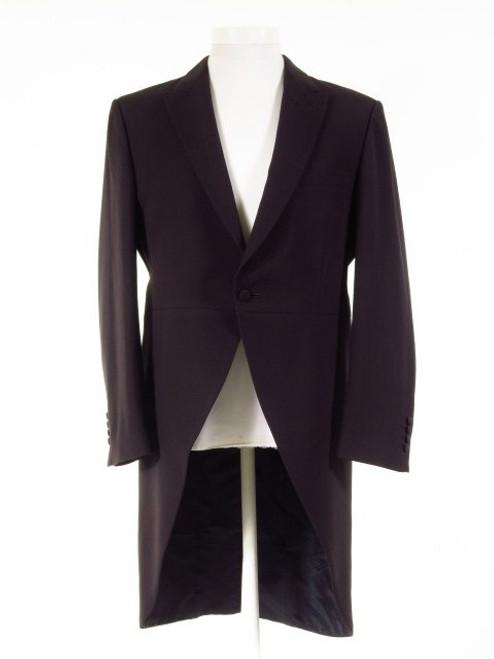 Dark navy blue tailcoat