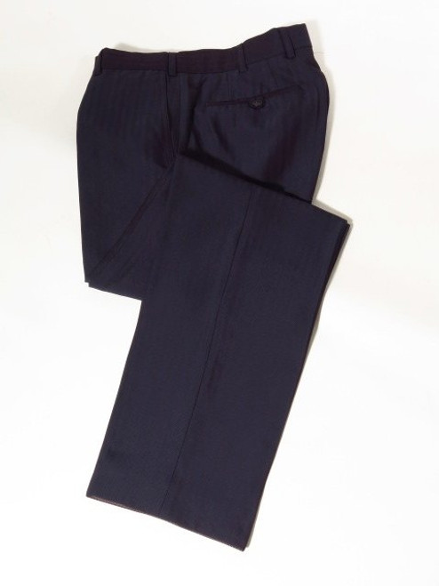 Navy morning suit wedding trousers