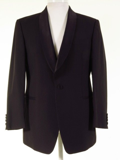 Black shawl collar dinner jacket