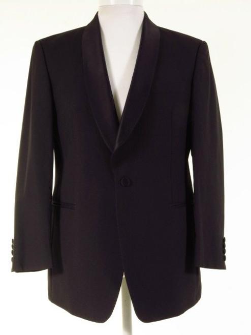 Black shawl collar dinner jacket