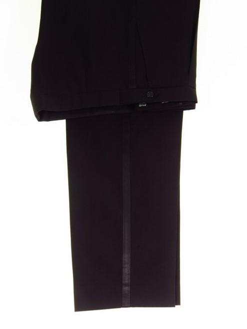 Black dinner suit trousers