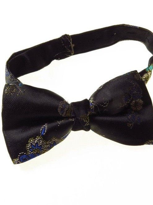 Mens floral bow tie