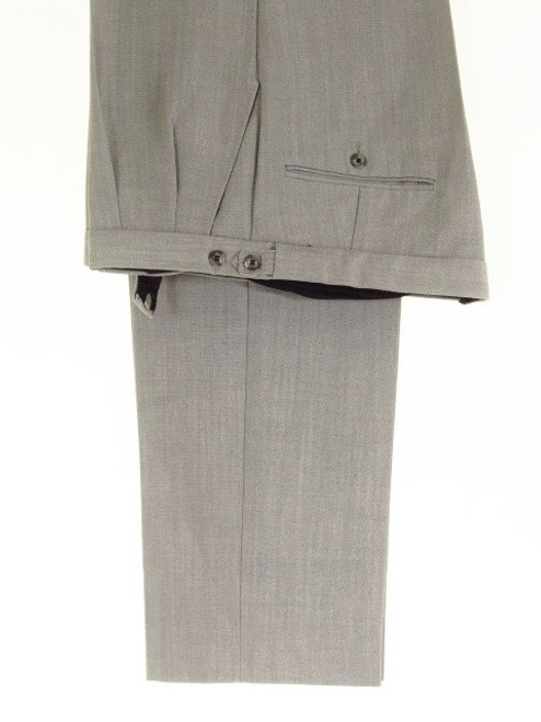Silver grey morning suit trousers
