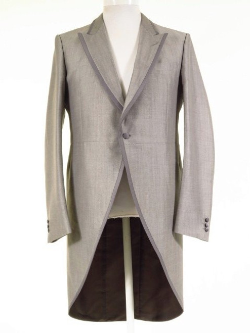 Silver grey morning suit tailcoat