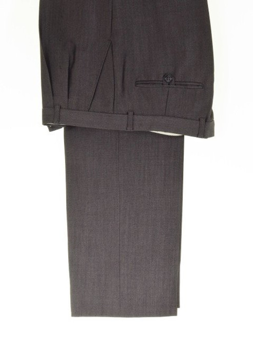 Grey mohair morning suit trousers