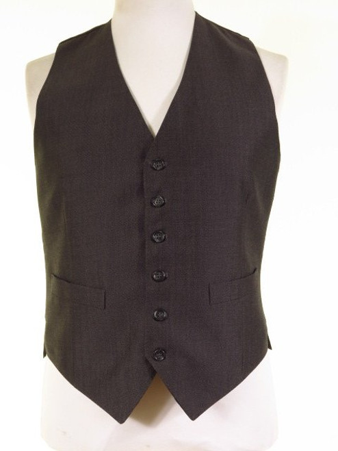 Grey morning suit waistcoat