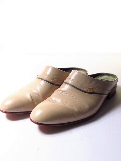 Pierre Cardin Backless Leather Shoes