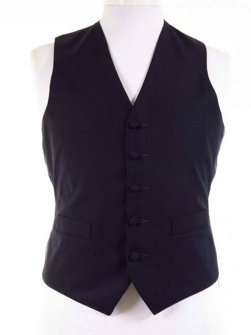 Navy Morning Suit Waistcoat