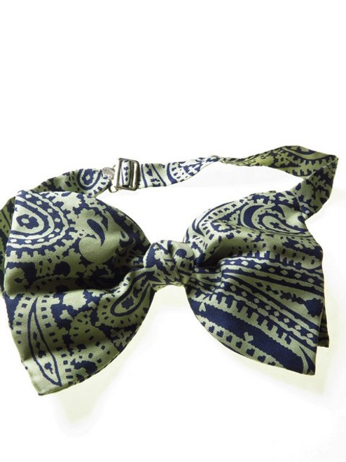 Silk Paisley Bow Bow Tie