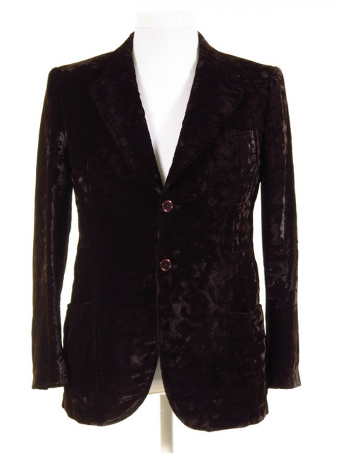 Crushed Velvet Vintage Jacket